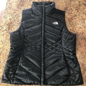 EUC The Northface Vest WOMENS Large Black